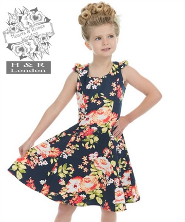 Jennifer Floral Kids Dress