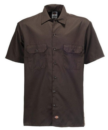 Dickies Work Shirt -Brown