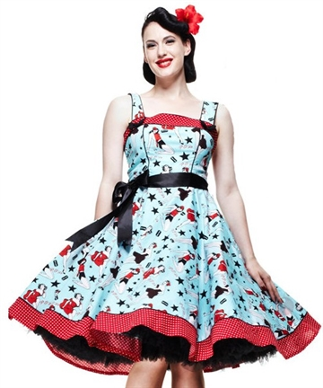 Dixie 50´s swing dress