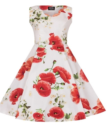 Poppy floral Kids Dress
