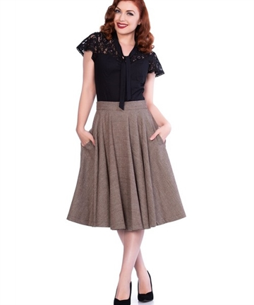 Sophie Wool Skirt