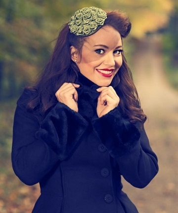 Fascinator - green hat
